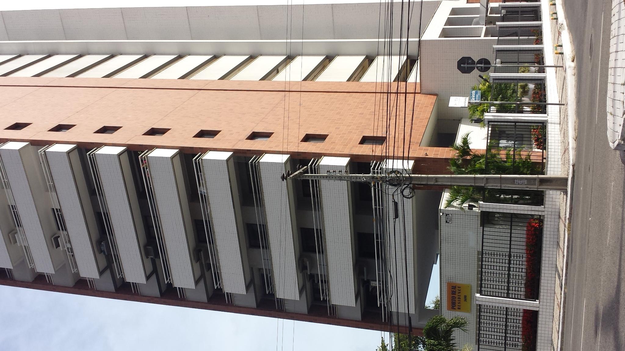 Ed. Porto Real 1º andar – 2 quartos